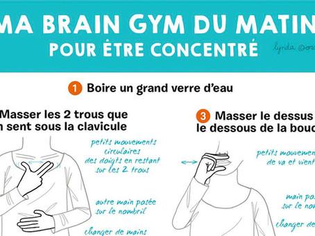 ECAP, 4 mouvements du Brain Gym
