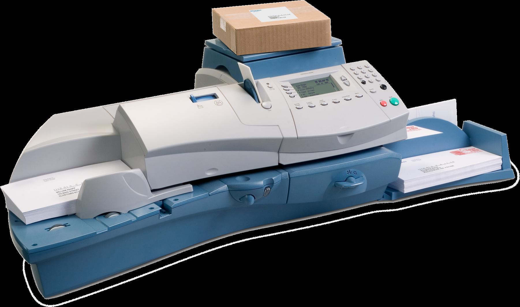 DM400 digital autofeed postage meter