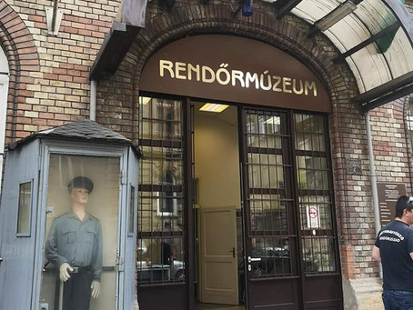 Obisk policijskega muzeja v Budimpešti.