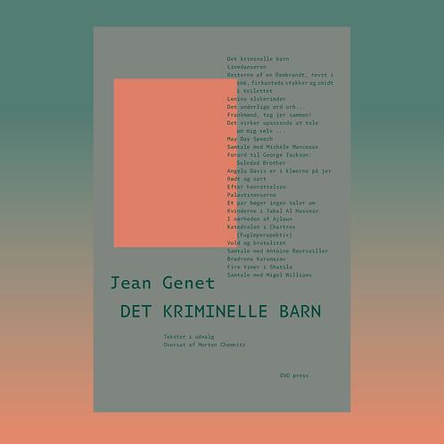 Jean Genet: Det kriminelle barn