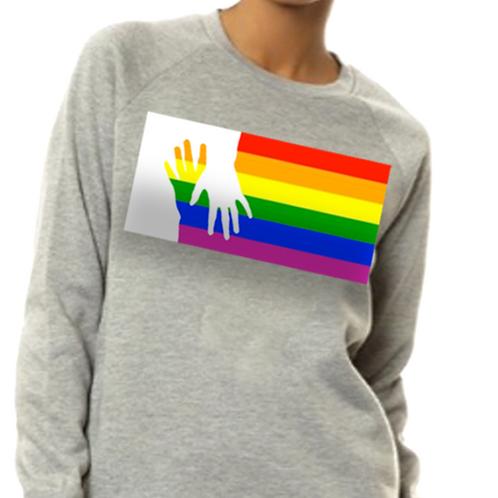 RAINBOW FLAG YOUR HAND IN MINE