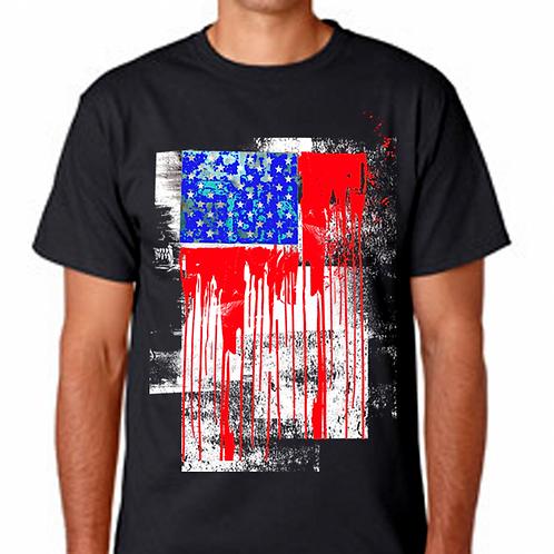 FLAG AMERICA ABSTRACTA