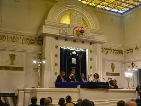 Démolition de la synagogue (en russe, avec traduction)