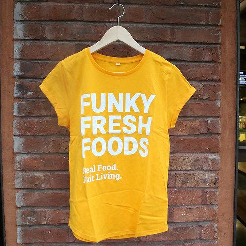 Organic T-Shirt Yellow