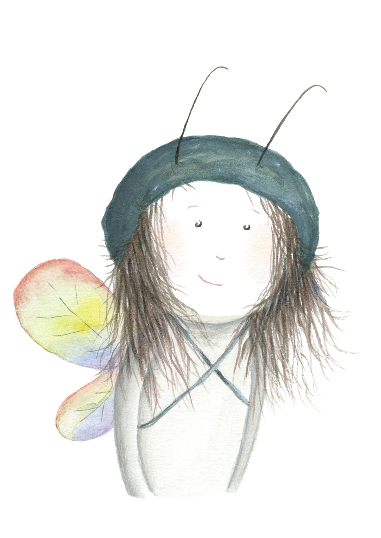 'Alfi Girl With Rainbow Wings'