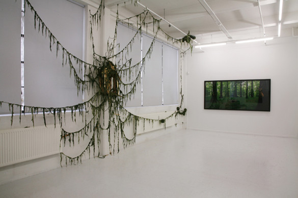 'With Leafs Shading For The Light', Peter Lav Gallery, 2007