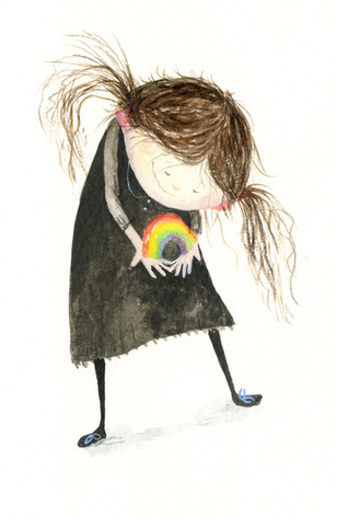 '..and what if there where tiny rainbows..'