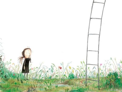 ..Uh to climb that ladder...