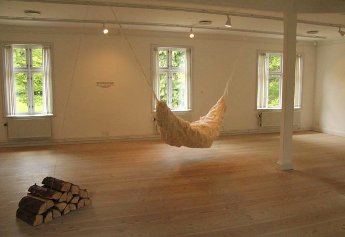 'Psychological Cocoon', Kunscentret Silkeborg Bad, 2011