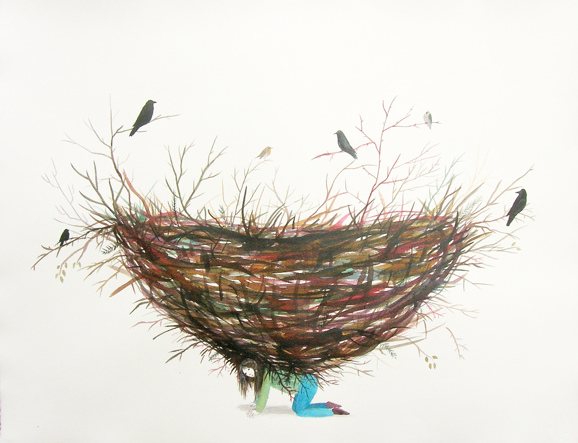 'The Birds Did Not Give Away', 2010