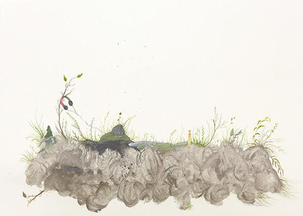 'Worlds Within Worlds', 56x76 cm, 2014