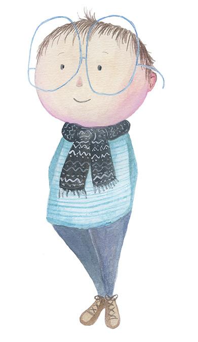 Boy With BIG Glasses