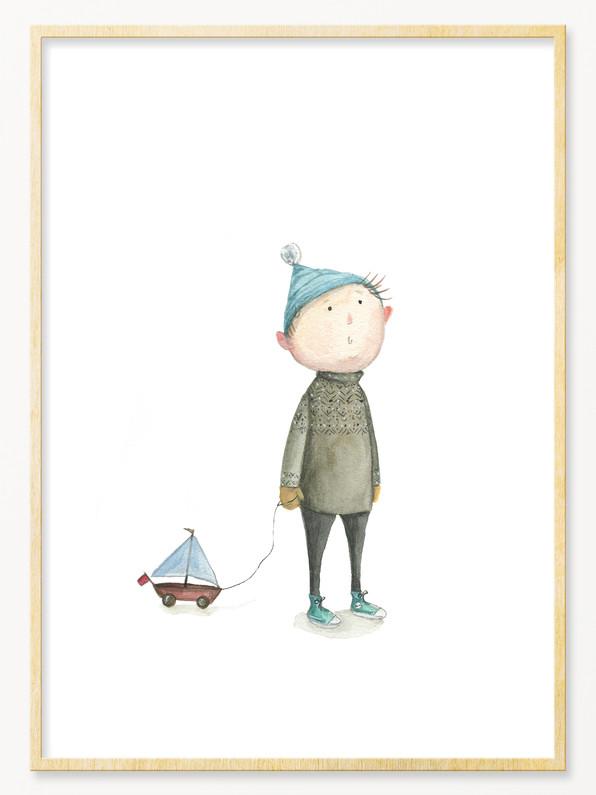 'Little Kenni', A4 size