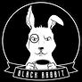 Black rabbit tea logo
