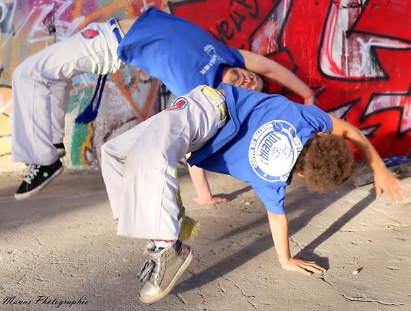 capoeira Tarbes enfants