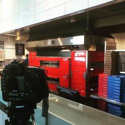 Interesting shoot today # love pizza #lo