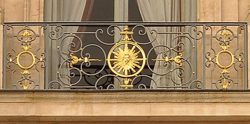 Balcon en ferronnerie