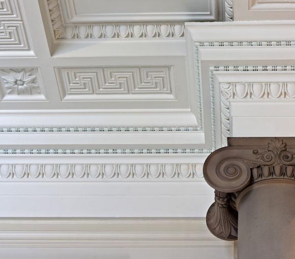 Décoration plafond en plâtre