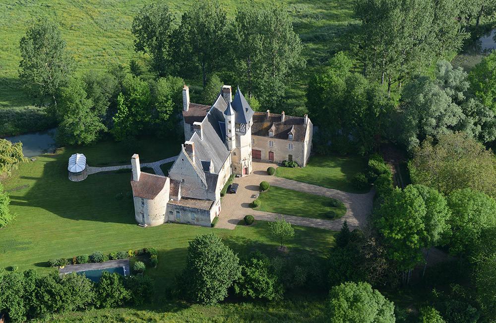 Patrick Kalita Châteaux Manoirs Belles demeures de France