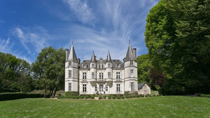 patrick kalita chateaux manoirs belles demeures en france / castles and manors in france