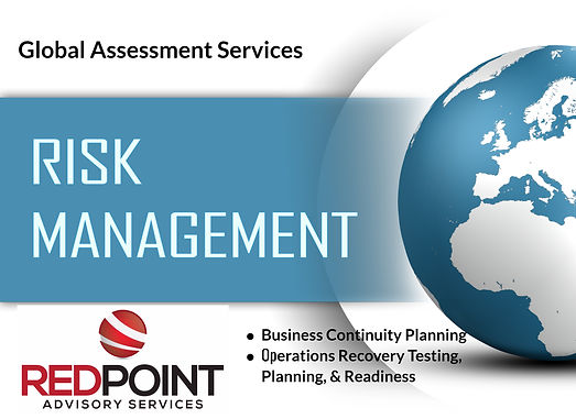 Risk Management Services of Business Continuity and Business Recovery by Redpoint Advisory Services.