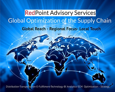 Global Optimization of Supply Chain Map by Redpoint Advisory Services.