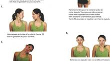 Exercices pour votre cou à faire lorsque vous travaillez à votre bureau pour de longues heures