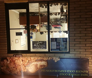 Mine Finder Gold Office Located in Black Canyon City, AZ