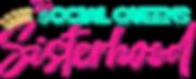 social queens sisterhood logo dropshadow