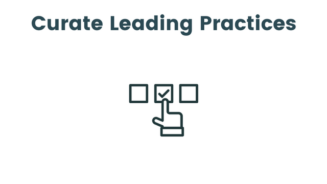 Curate Leading Practices