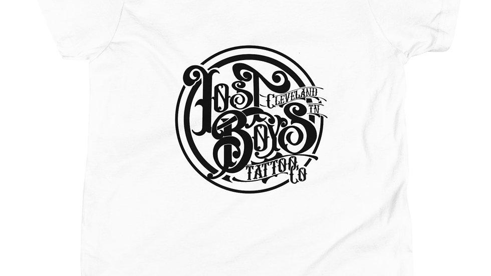 Youth Short Sleeve Black LB Logo