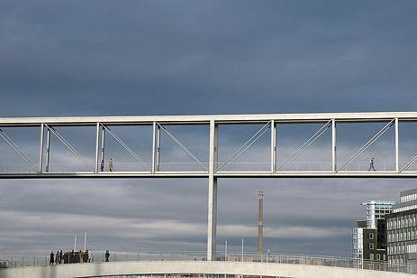 inspeção de ponte com drone