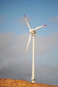 turbina eólica drone
