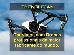 aluguel de drone