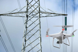 Drones em inspeção de redes