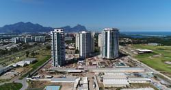 Canteiro de obras na Barra da Tijuca