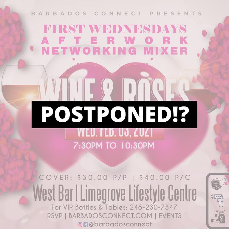 Wine & Roses! Postponed Until Further Notice
