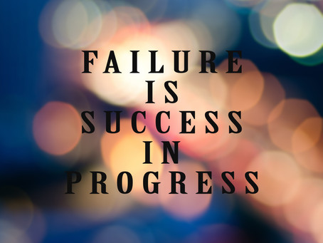 Succeeding Through Failure
