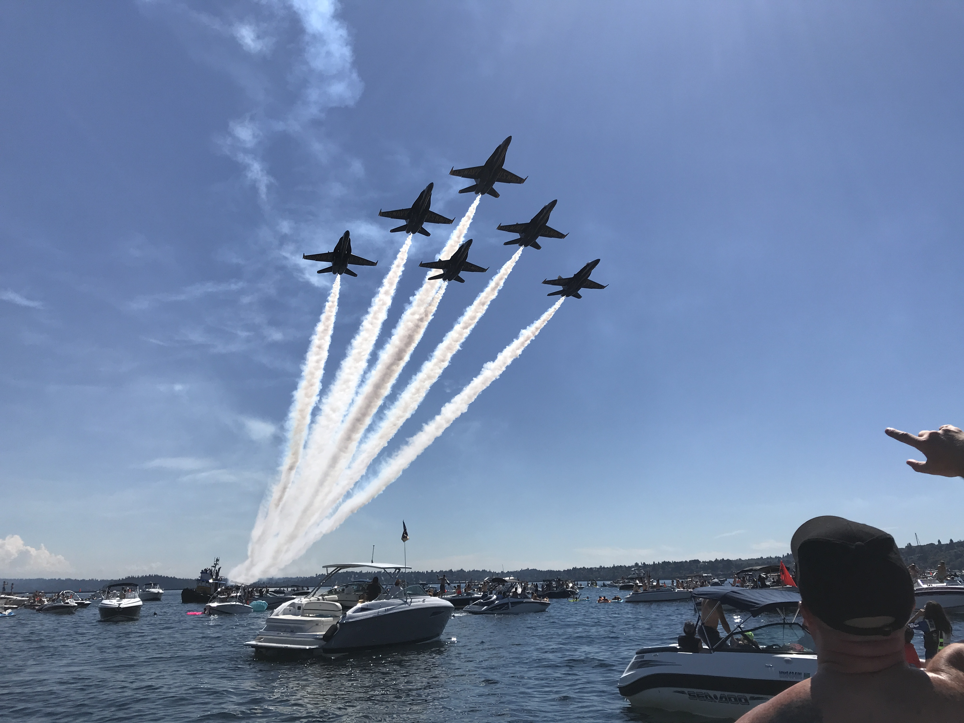 SeaFair Flyover