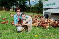 Irene Schlager mit Sohn .....
