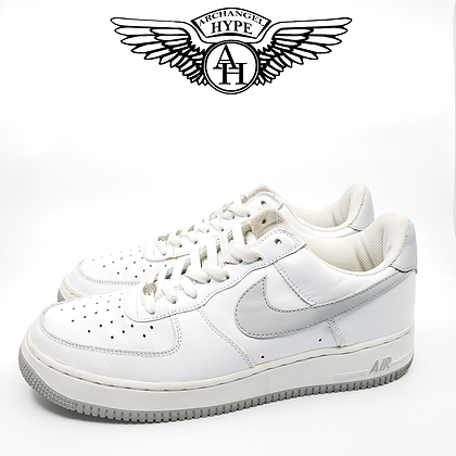 """Nike Air Force 1 Low """"White/Grey"""" 2003"""