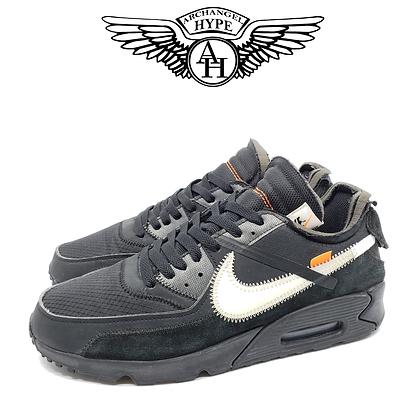 "Nike Air Max 90 x ""Off-White"" Black"