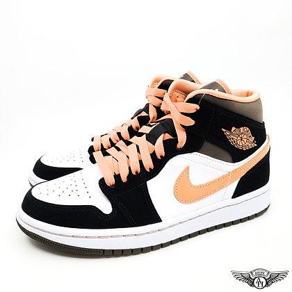 Nike Air Jordan 1 Mid Peach Mocha