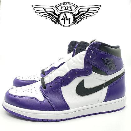 "Nike Air Jordan 1 ""Court Purple"" 2.0"