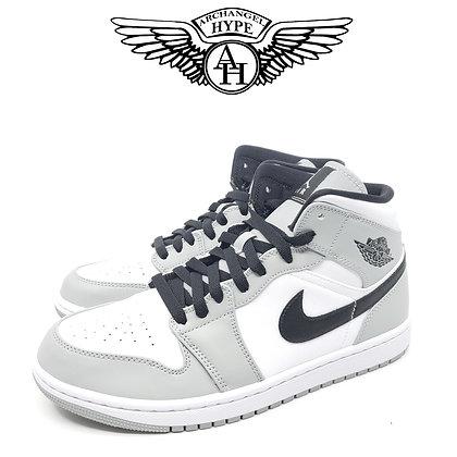 Jordan 1 Mid Light Smoke Grey
