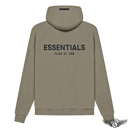 Fear of God Essentials SS21 Hoodie   Taupe
