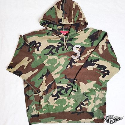 Supreme x Swarovski S Logo Hooded Sweatshirt