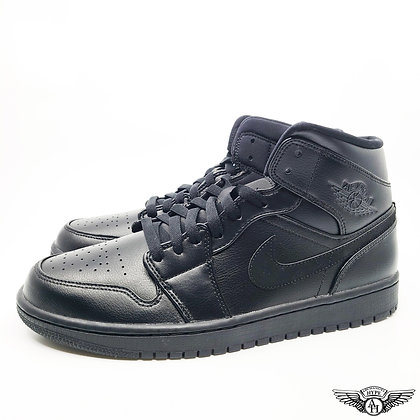 Nike Air Jordan 1 Mid Black 2019