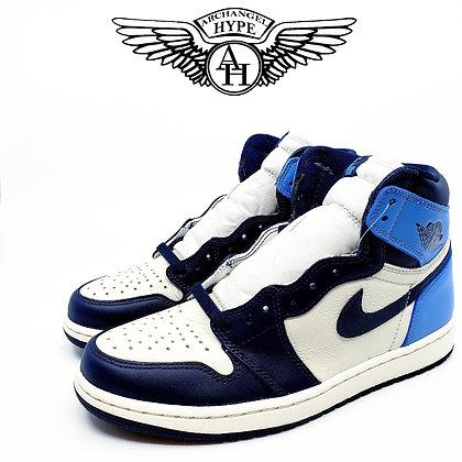"Nike Air Jordan 1 ""Obsidian/UNC"""