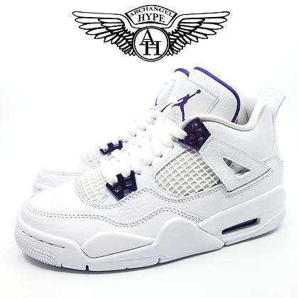 "Nike Air Jordan 4 GS ""Metallic Purple"""